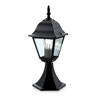 Firstlight Jaded Traditional 4 Panel Black Outdoor Lantern