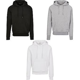 Build Your Brand Unisex Adults Raglan Sleeved Hoodie