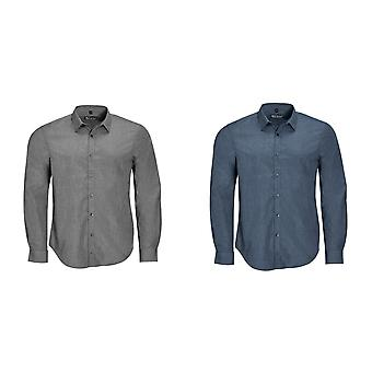 SOLS Mens Barnet Long Sleeve Button Down Shirt