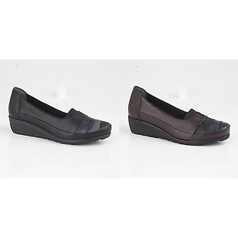 Mod Comfys Womens/Ladies Leather Casual Shoe