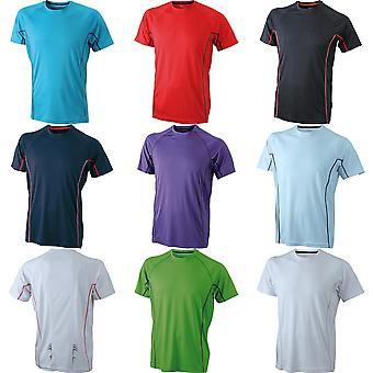 James and Nicholson Mens Running Reflex T-Shirt
