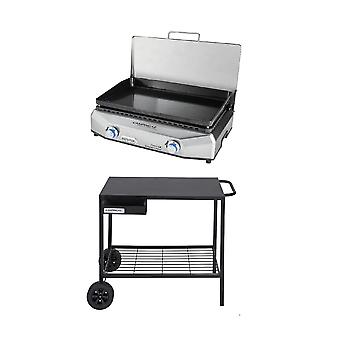 Campingaz Plancha Barbecue Bundle With Master Plancha LX + Plancha BBQ Trolley
