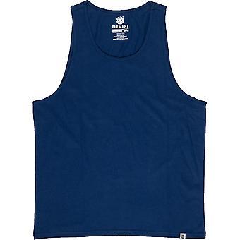 Element Basic sleeveless T-Shirt in blauen Tiefen