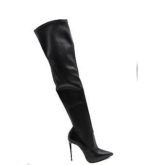 Le Silla Ezbc372002 Bottes en cuir noir