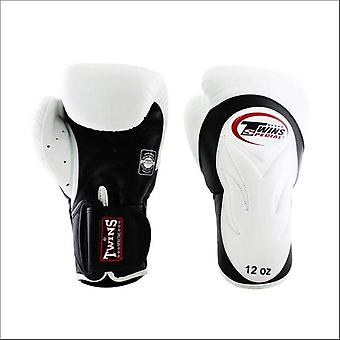 Twins special deluxe sparring gloves - white