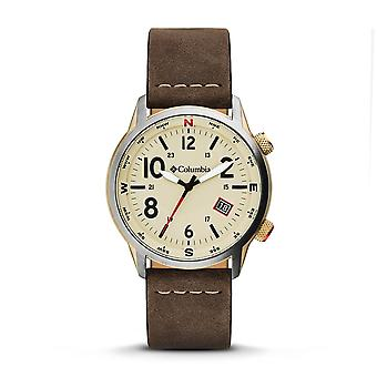 Columbia CSC01-002 Mens Outbacker Beige Dial Wristwatch