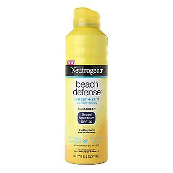 Spray de défense plage de Neutrogena, spf 70, 6,5 oz