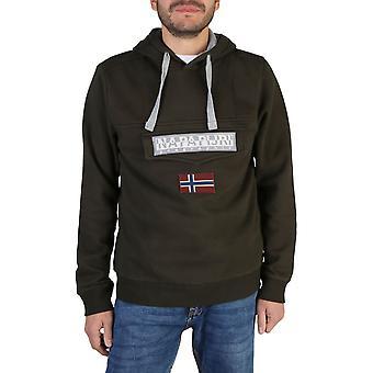 Napapijri Original Men Fall/Winter Sweatshirt - Green Color 38145