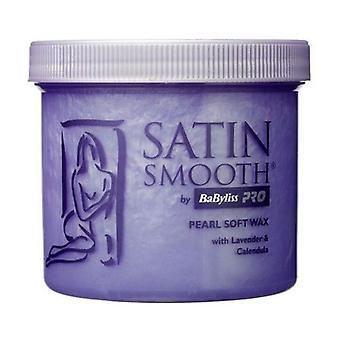 Satin Smooth Pearl Wax Waxing Lotion With Lavender & Calendula 425g Tub