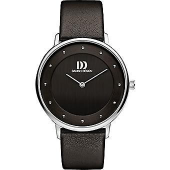 Danish DZ120505 Designs-wristwatches, ladies, leather, color: black