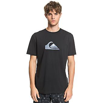 Quiksilver Men's T-Shirt ~ Comp Logo black