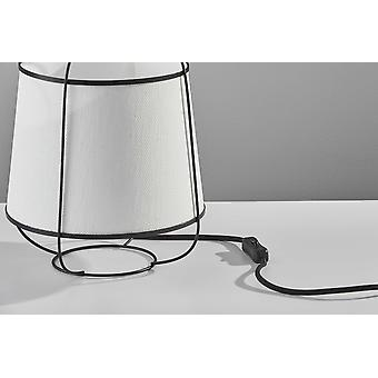 "10"" X 10"" X 11"" Brushed Steel Metal Table Lantern"