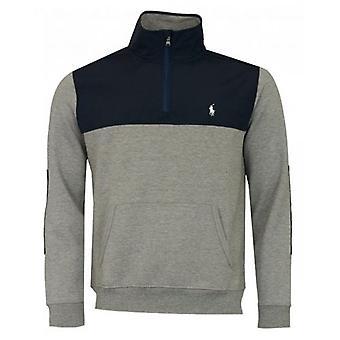 Polo Ralph Lauren Halbreißverschluss Nylon Mix Sweatshirt