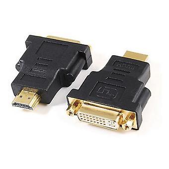 HDMI to DVI adapter GEMBIRD A-HDMI-DVI-3 Black