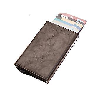 RFID-kortholder brun
