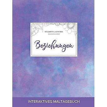 Maltagebuch fr Erwachsene Beziehungen Schildkrten Illustrationen Lila Nebel by Wegner & Courtney