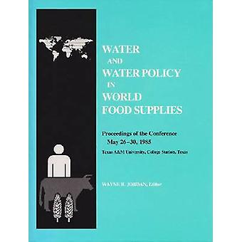 Water and Water Policy by W. Jordan - 9780890962787 Book