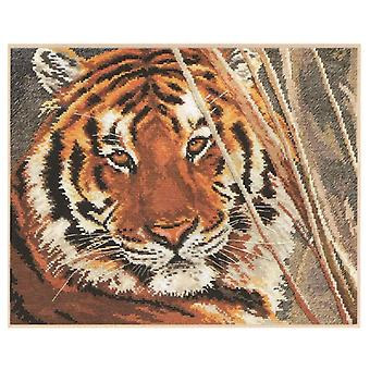 Alisa Cross Stitch Kit - Tiger