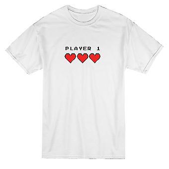 Videogame игрок соответствия пара графический Мужская футболка