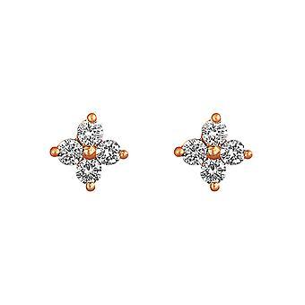 Korvakorut Keiju 18K kulta ja timantit