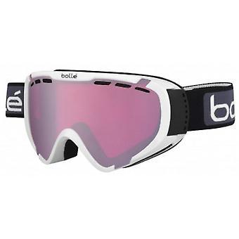 Bolle-Explorer OTG Skibrille (glänzend weißen Vermillon Gun)
