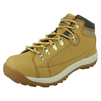 Mens Groundwork High-Top Style Safety Shoes With Steel Toe Cap GR387