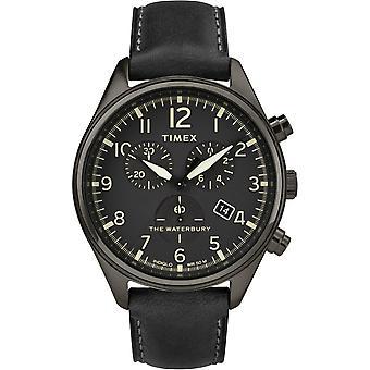 montre Timex montres Waterbury 3G Chronograph TW2R88400 - montre  Homme