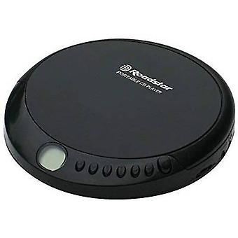 Roadstar Portabil CD player CD, CD-R, CD-RW tangibil keypad Negru