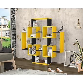 Gant Yellow Color Library, Melaminic Chip Black 123.6x22x123.6 cm