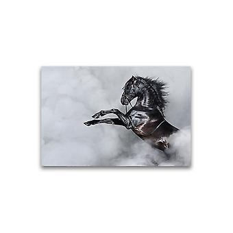 Incredible Black Spanish Horse Poster -Afbeelding door Shutterstock