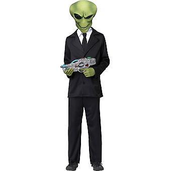 Offizielle Alien Kinderkostüm