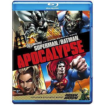 Superman/Batman: Apocalypse [BLU-RAY] USA import