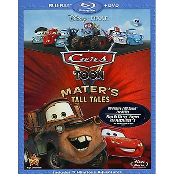 Cars Toon: Mater's Tall Tales [2 Discs] [Blu-ray/Dvd] [BLU-RAY] USA import