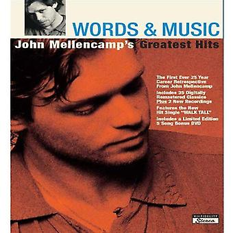 John Mellencamp - Words & Music: John Mellencamp's Greatest Hits [CD] USA import