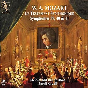 Mozart: Symphonies No.39, 40 & 41 [SACD] USA import