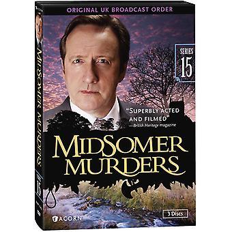 Midsomer Murders: Serie 15 [DVD] USA importeren