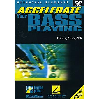 Accelerate Your Bass Playing [DVD] USA import