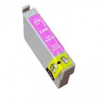 RudyTwos Ersatz für Hummingbird Epson Tinte Tintenpatrone LightMagenta kompatibel mit Stylus Photo P50, PX650, PX660, PX700W, PX710W, PX720WD, PX800FW, PX810FW, PX820FWD, PX830FWD, R265, R285, R360, R