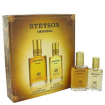 Stetson Gift Set By Coty 1.5 oz Cologne + .75 oz After Shave