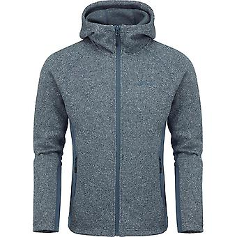 North Ridge Men's Atlas Textured Fleece Blue