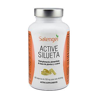 Active silhouette 60 capsules of 720mg