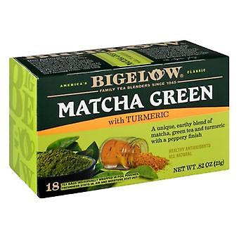 ביגלו מיצ'ה תה ירוק עם כורכום