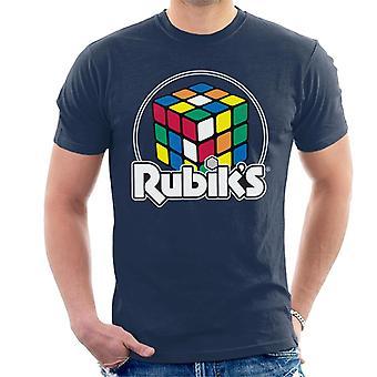 Rubik ' s cirkel logo mannen ' s T-shirt