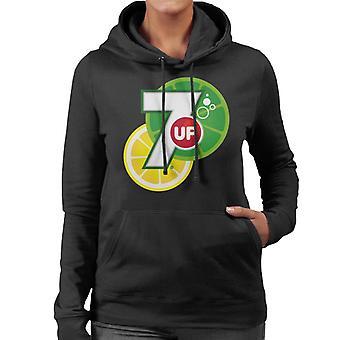 7UP citrus logo kvinnor ' s Huvtröja