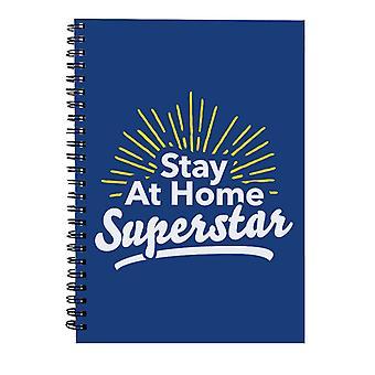Bo hjemme Superstar Spiral Notebook
