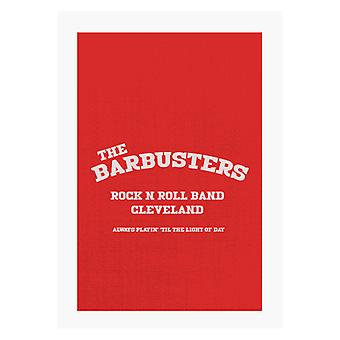 Light Of Day The Barbusters Rock N Roll Band Cleveland A4 Print