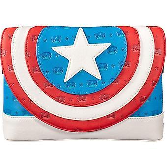 Pop By Loungefly Captain America Crossbody Marvel