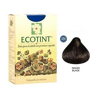 Mustat hiusväri (1N) 130 ml