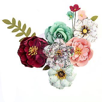 Prima Markkinointi Kaunis Mosaiikki Kukat Smaragdi Unelma