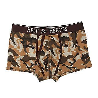 Help For Heroes Mens Camoflague Underwear